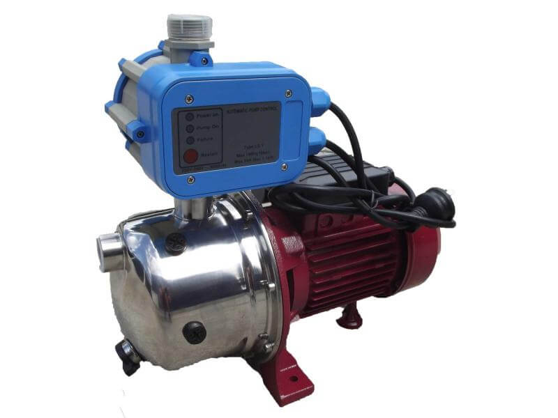 JET100S Stainless Steel pump with pressure switch